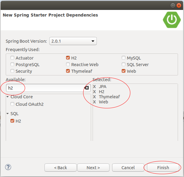 Integrating Spring Boot, JPA and H2