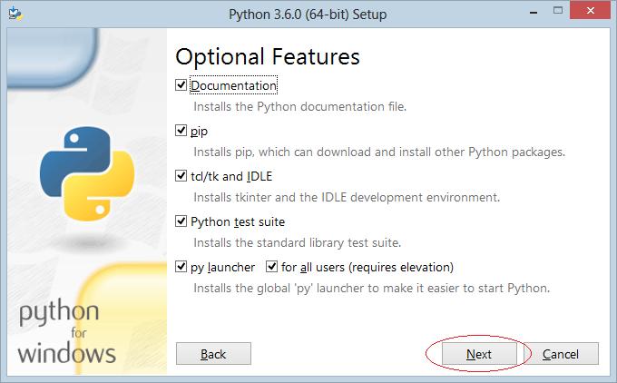 Cài đặt Python trên Windows